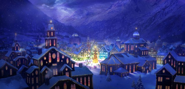 Christmas_Town_by_Philipstraub
